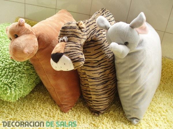 Cojines de animales - Cojines pequenos ...