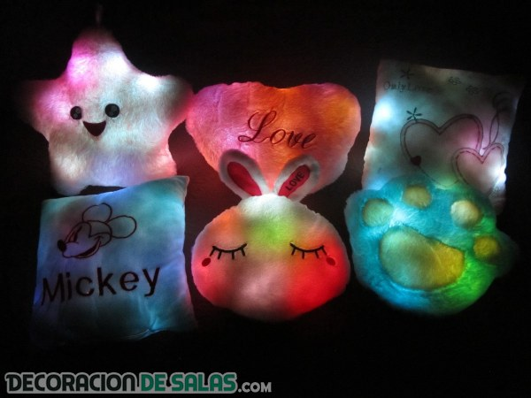 Cojines luminosos