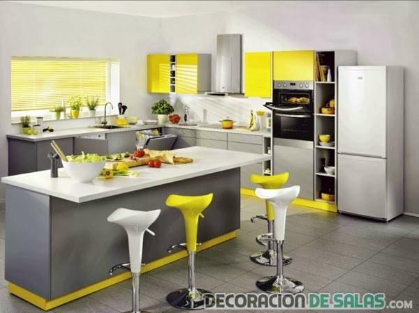 color amarillo para la cocina