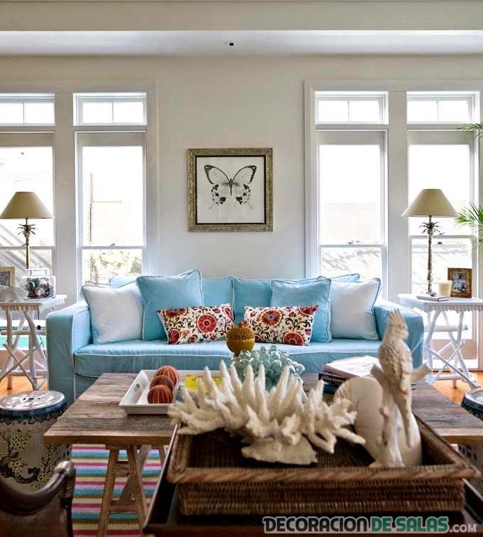 Los mejores colores para decorar en verano for Colores para el hogar