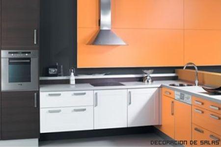 Cocinas colores elegir los colores para la cocina for Cocinas en dos colores
