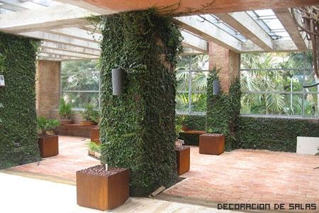 Jardines verticales en casa for Jardin vertical interior casa