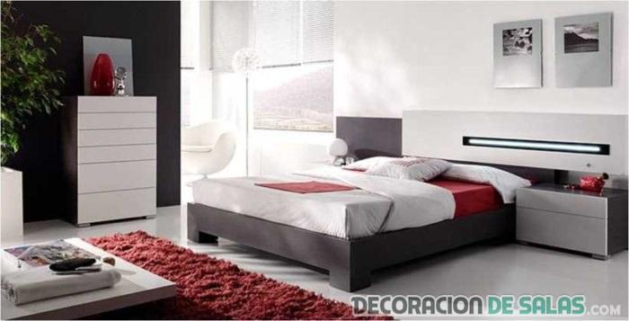 combinación de colores en dormitorios