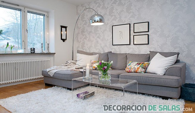 Sof s en color gris una elecci n acertada for Sofas grises decoracion