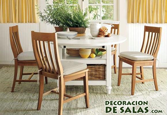 Un comedor para todos los d as for Como hacer una mesa de madera para comedor