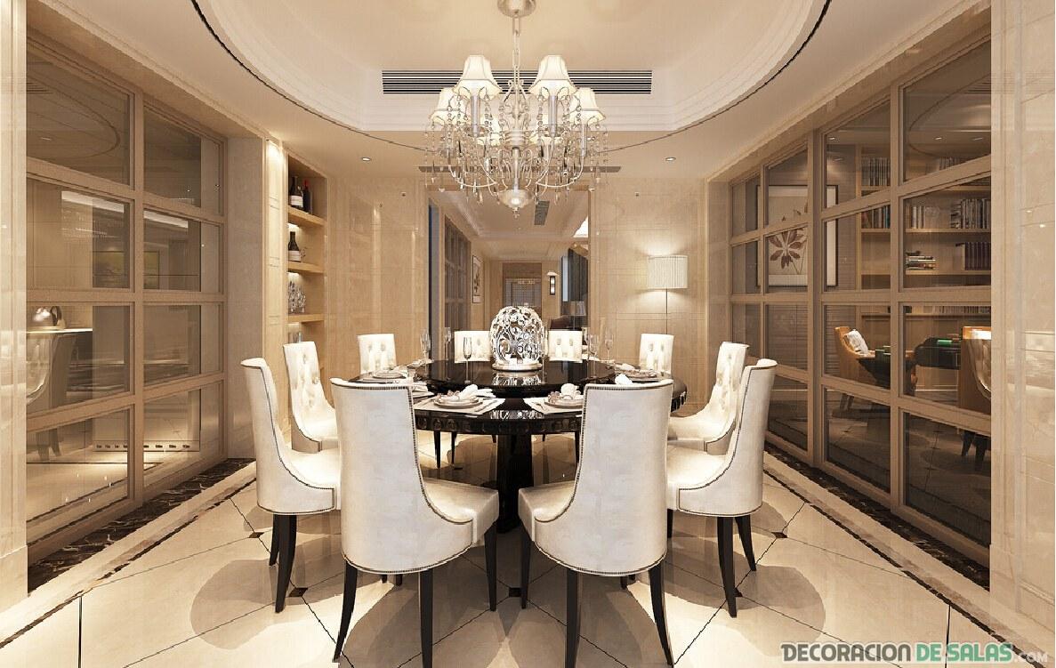 5 tipos de comedores muy diferentes entre s for Mesa de comedor elegante lamentable