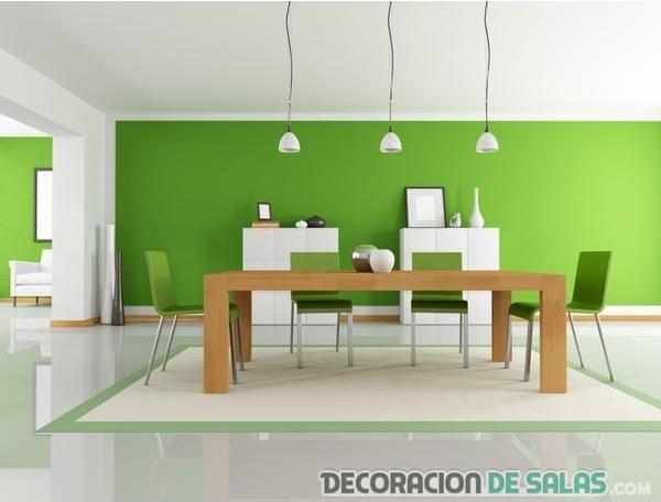 Comedores modernos a todo color - Comedores decorados modernos ...