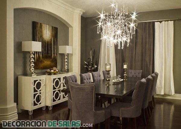 5 comedores formales con mucha elegancia for Mesa de comedor elegante lamentable