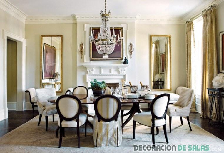 5 comedores formales con mucha elegancia for Sillas de comedor elegantes