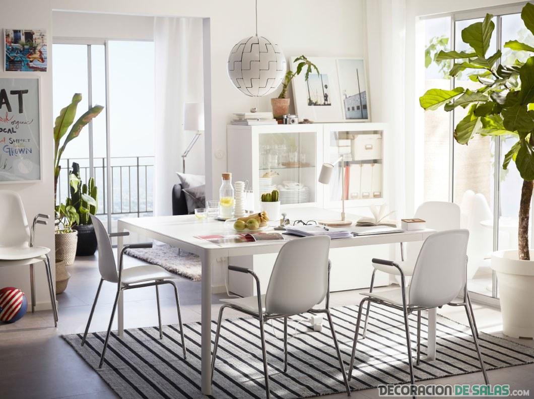Comedores muy modernos de la mano de Ikea