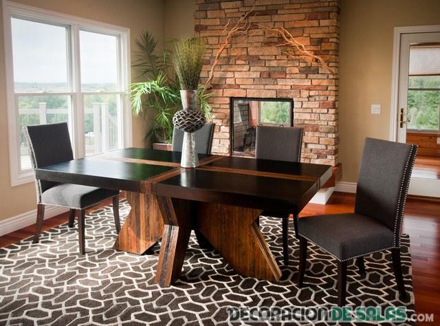6 comedores modernos para inspirarte - Muebles de comedor rusticos modernos ...