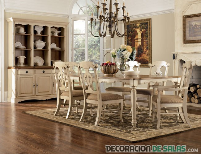Comedores Estilo Vintage. Latest Dining Rooms With Brilliantly ...