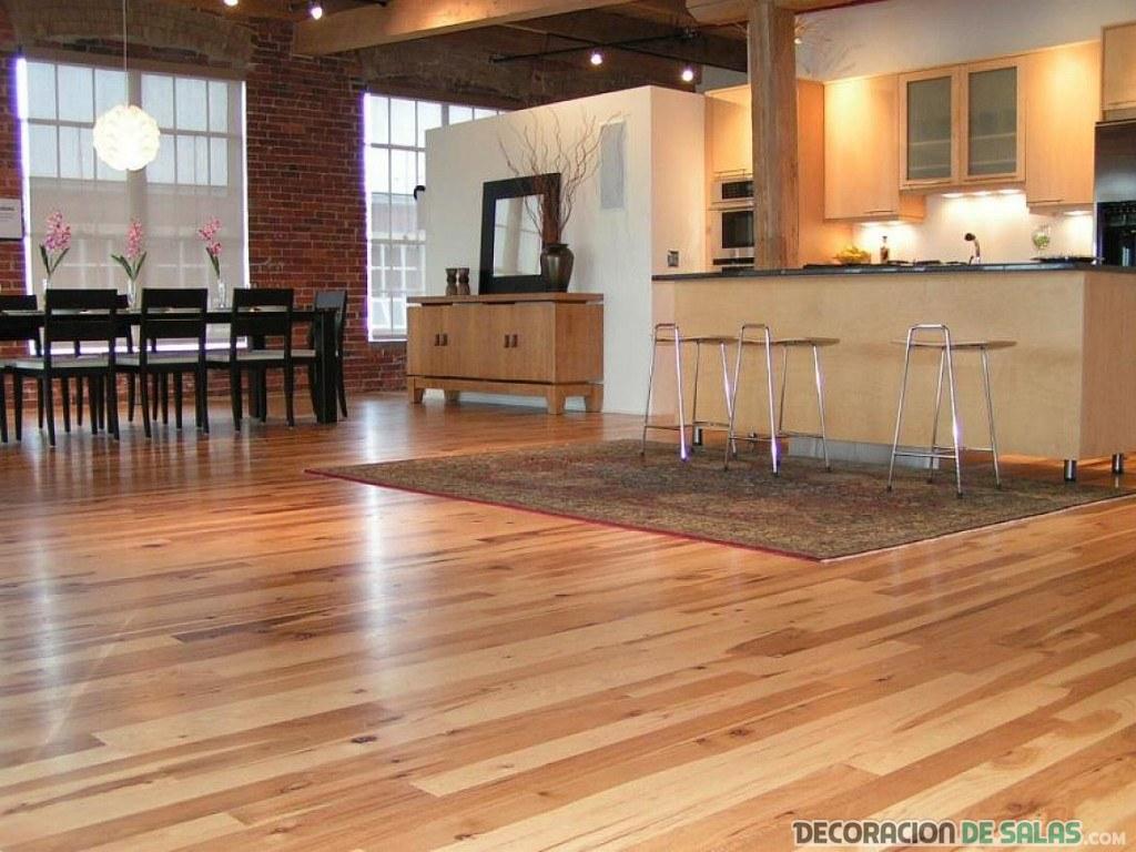 como limpiar los suelos de madera