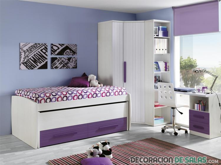 Armarios rinconera, la clave de un dormitorio más moderno