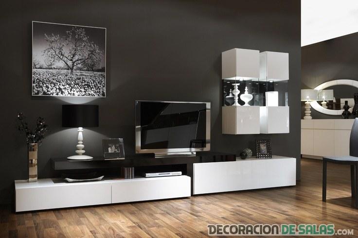 composición del salón estilo minimalista