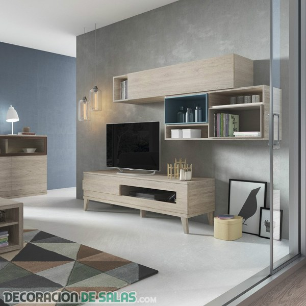 Los mejores muebles para poder tener el salón y el comedor ordenados