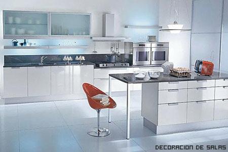 Una isla en la cocina