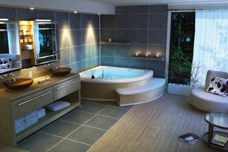 Cuartos de baño prácticos