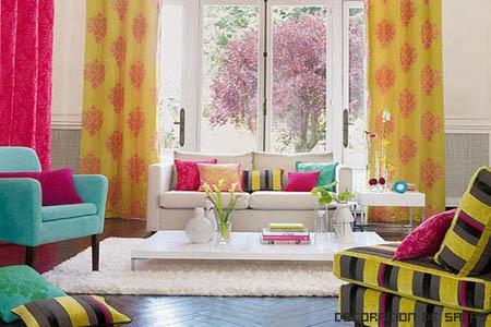 Cortinas para tu casa - Color para el salon ...