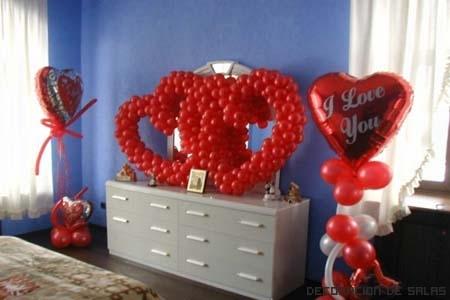 Dormitorio en san valentin for Habitacion 14 de febrero