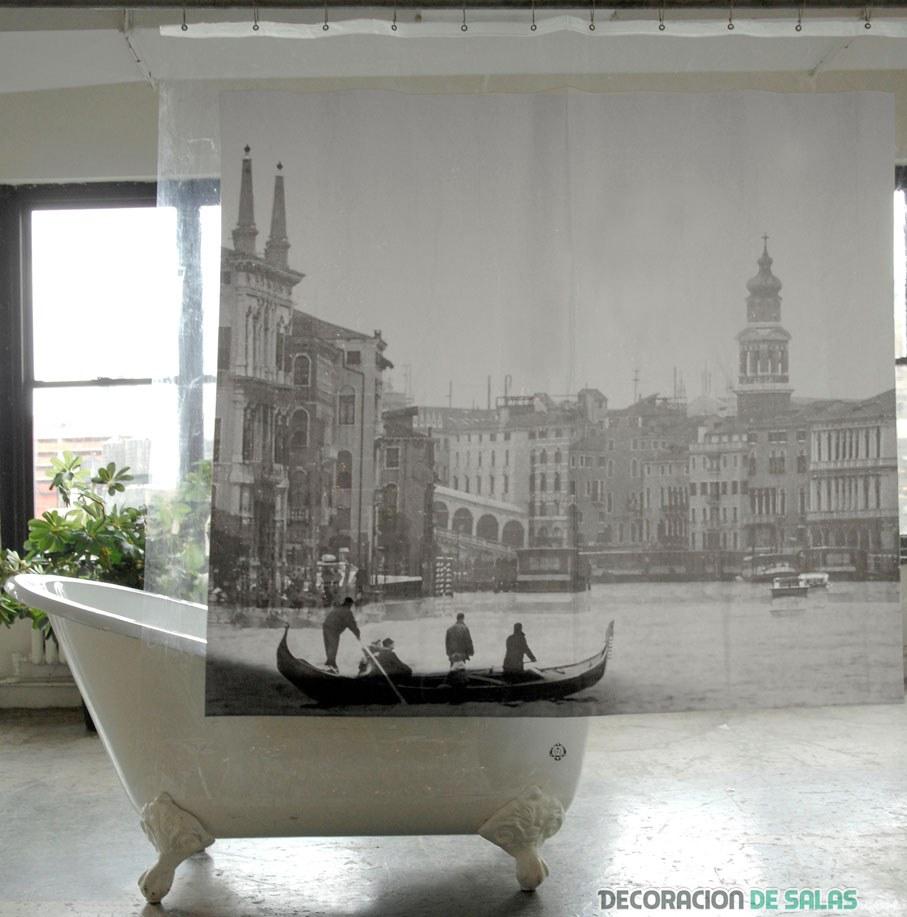 Cortinas De Baño Mas Largas:Cortinas originales para tu baño más moderno