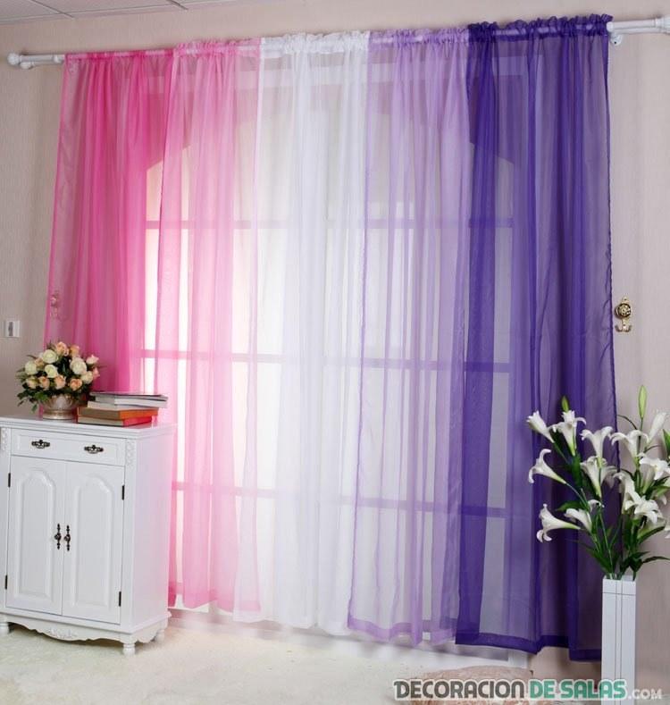 Elige telas decorativas para el interior de tu hogar - Cortinas para el hogar modernas ...