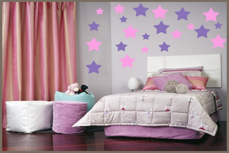 Decoracion dormitorios infantiles tattoo pictures to pin - Cortinas para dormitorio juvenil ...
