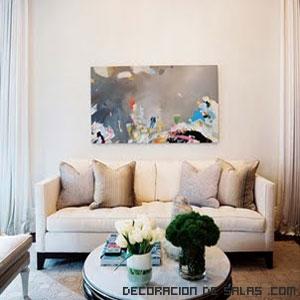 Colgar los cuadros - Cuadros decoracion salon ...
