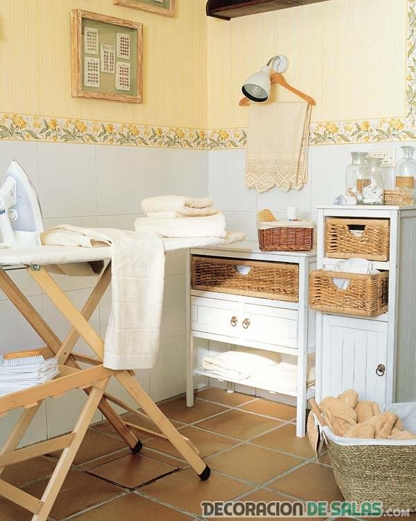 Decora tu cuarto de lavado o planchado for Lavaderos ideas