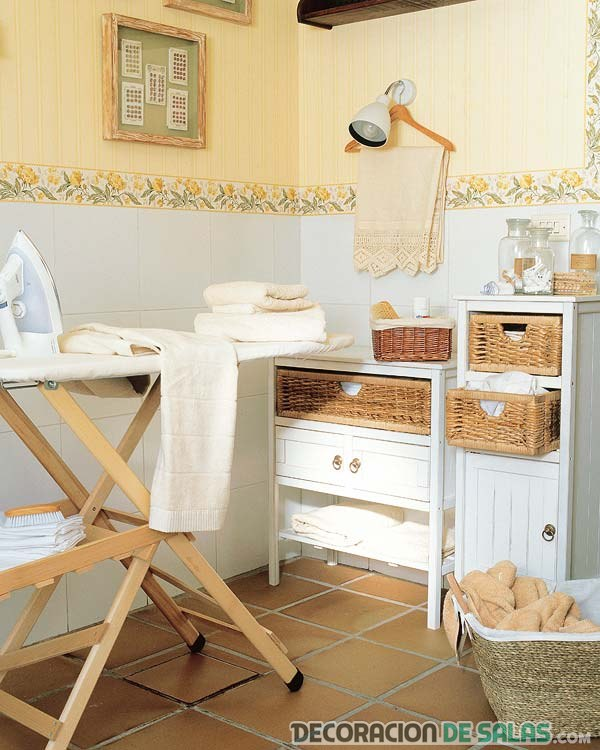 Decora tu cuarto de lavado o planchado for Planchas de madera para paredes