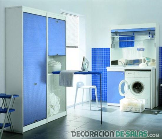Decora tu cuarto de lavado o planchado for Lavaderos modernos para ropa