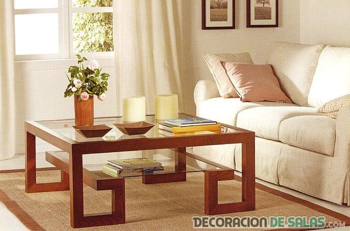 Ideas de centros de mesa para tu sal n for Bandejas decoracion salon