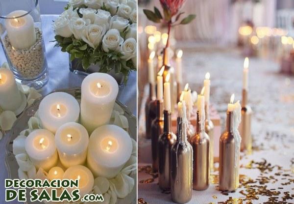 Decoraci n exterior con velas - Decoracion con velas ...