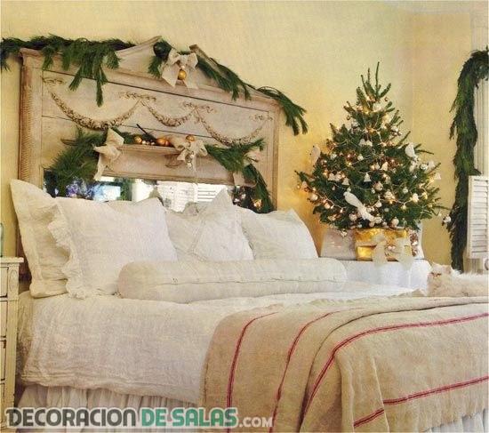 Ideas de decoración navideña en los dormitorios