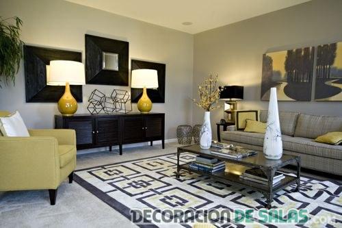Ideas de salas masculinas muy elegantes for Decoracion clasica y moderna