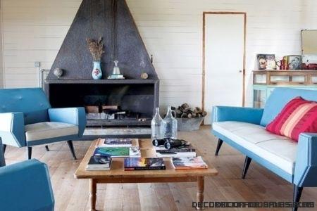 Muebles de colores y patchwork