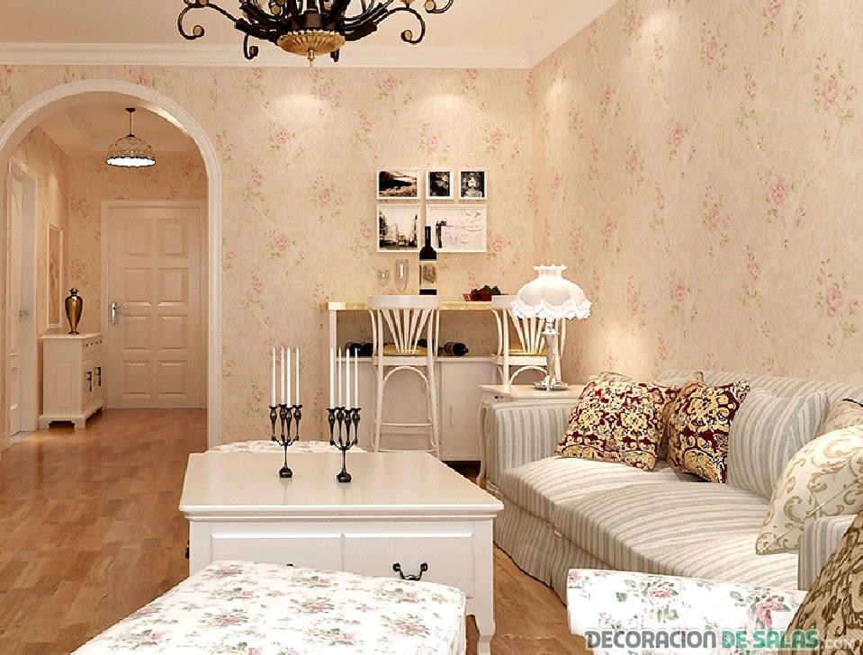 Descubre los salones m s rom nticos en estas ideas for Muebles romanticos blancos