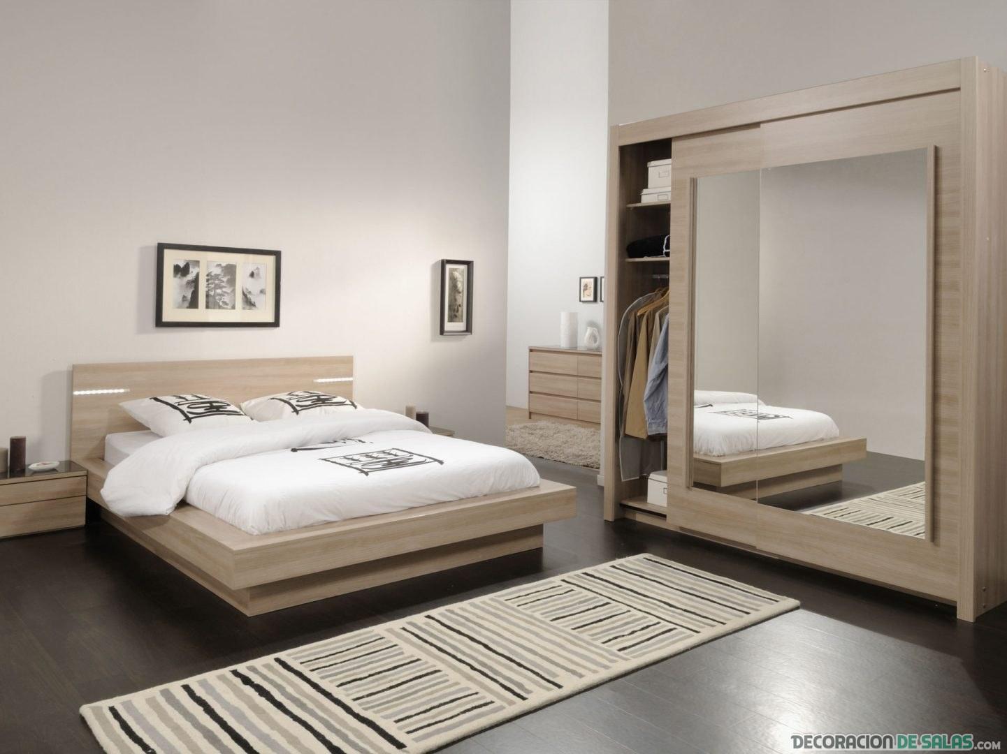 decorar el dormitorio con espejos