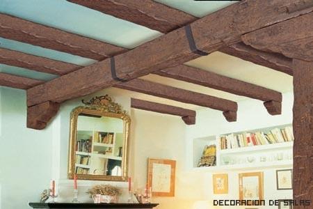 Vigas decorativas - Vigas falsas de madera ...