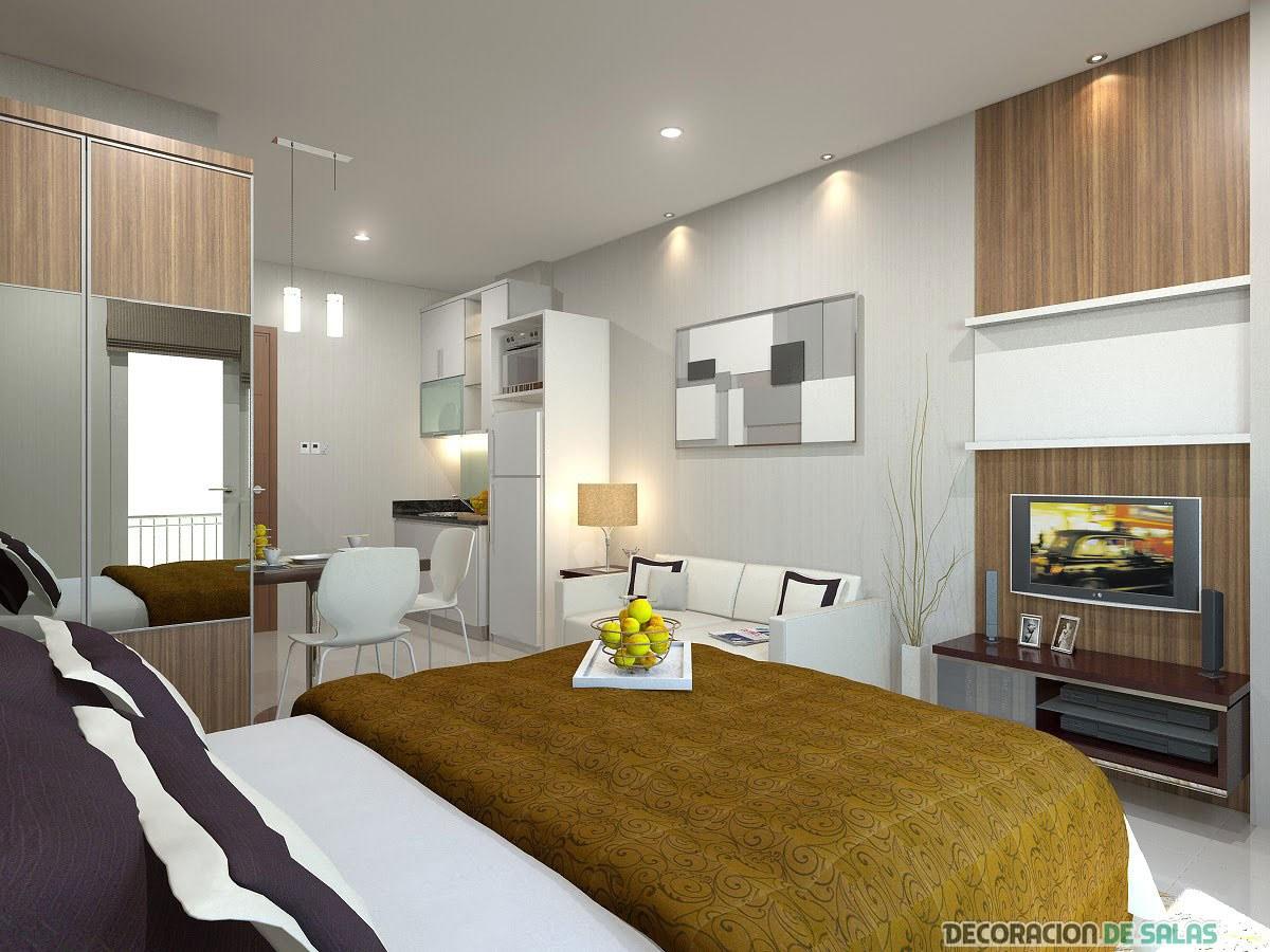 diseño de un pequeño apartamento