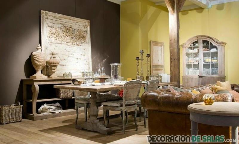 Ideas para distribuir los muebles en el sal n for Muebles de salon pequenos