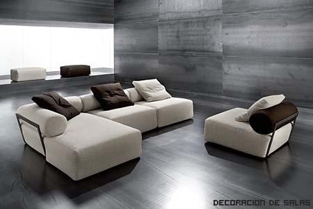Cómo distribuir los sofás