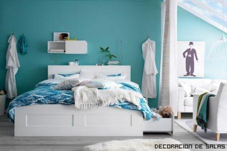 dormitorio azul 2013