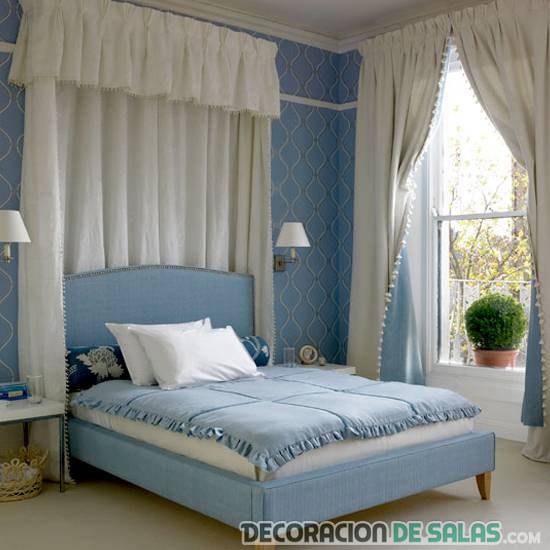 dormitorio azul bebé