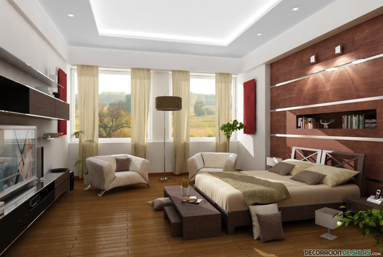 dormitorio bien organizado