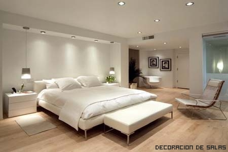 Dormitorio blanco - Dormitorios blancos modernos ...