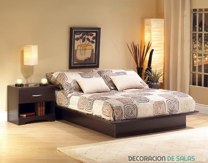 dormitorio color claro decoracion