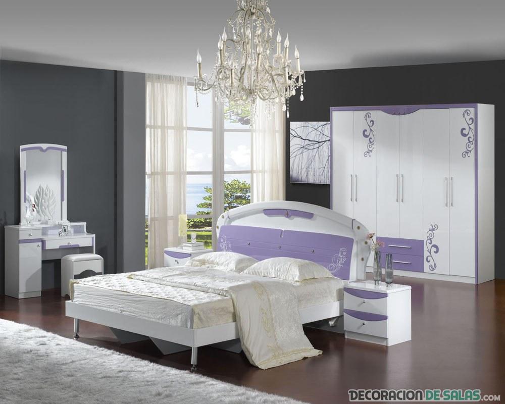 5 dormitorios elegantes que nos encantar a tener for Dormitorios elegantes