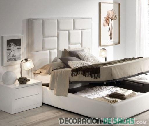 Pon orden en tu dormitorio - Dormitorios con cabeceros tapizados ...