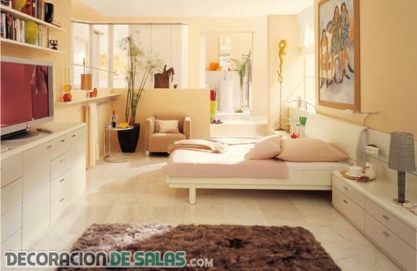 3 dormitorios amplios y con buen gusto
